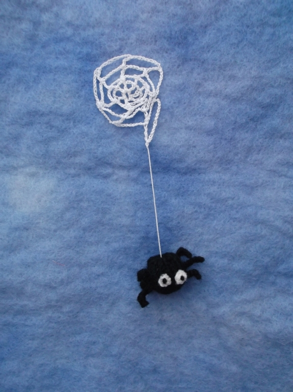 Spider And His Web Knits By Sachi