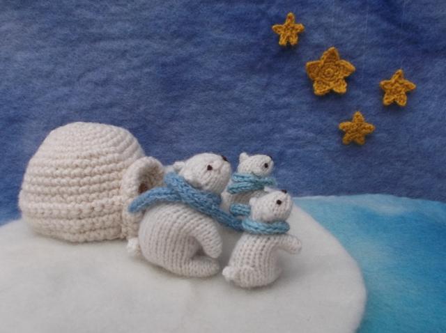 polar bear knits by sachi