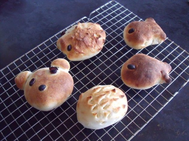 Baking with children