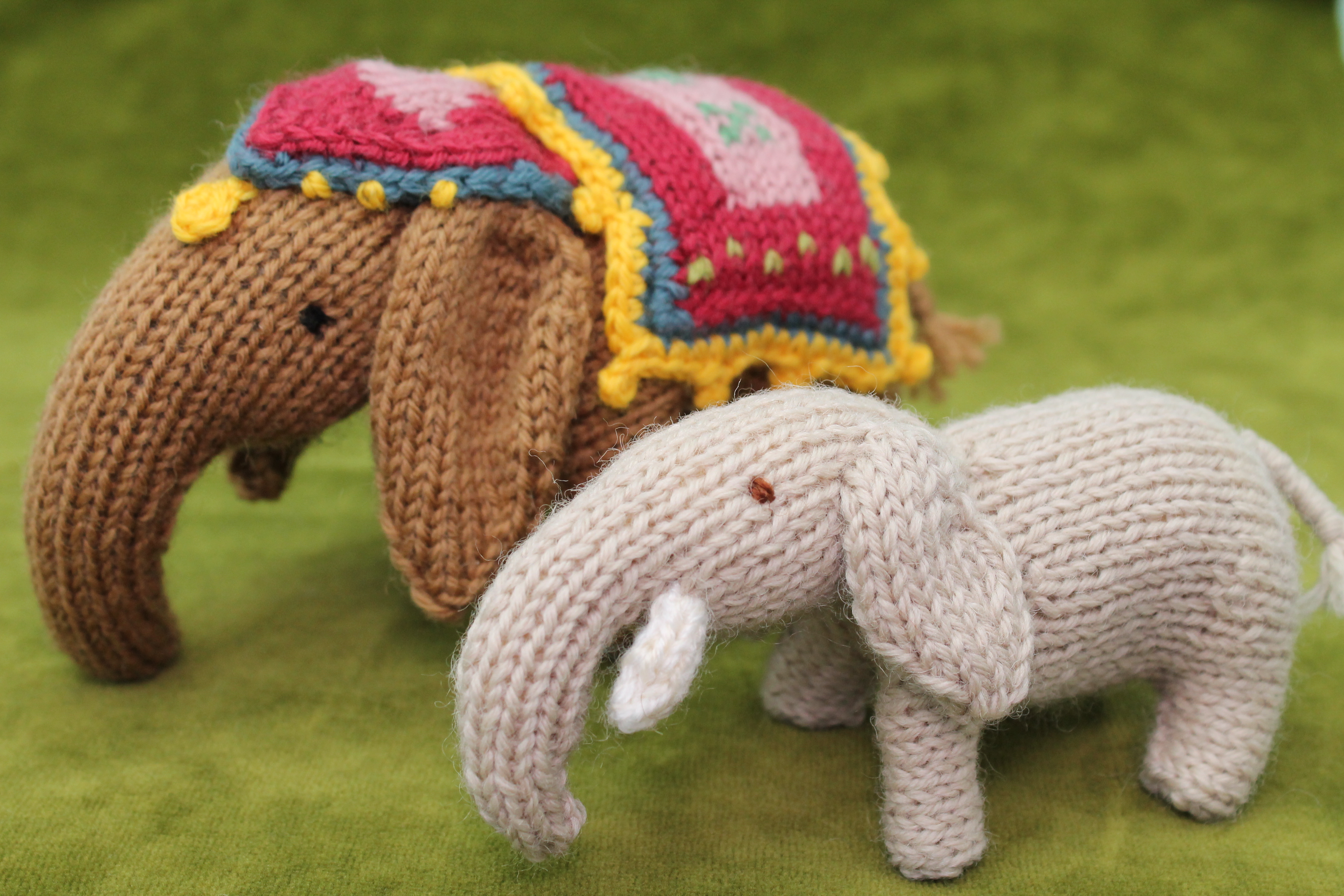 Knit toy designing tips
