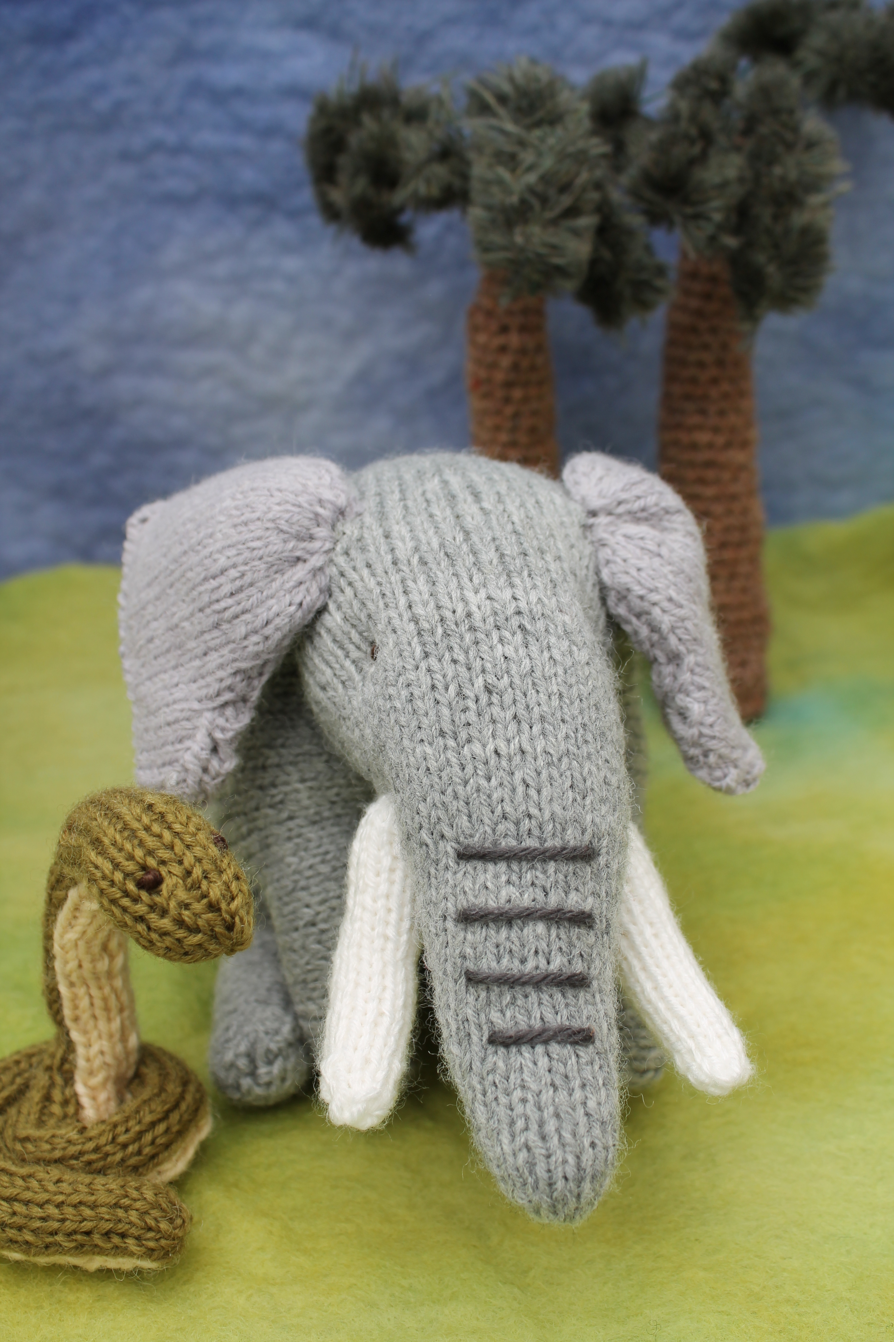 Large Elephant Knitting Pattern : My knitted elephant   Knits by Sachi