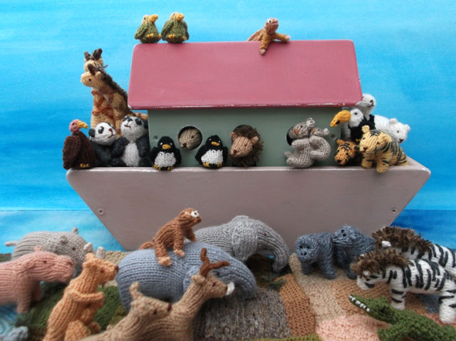 Knitted Animal Knits By Sachi