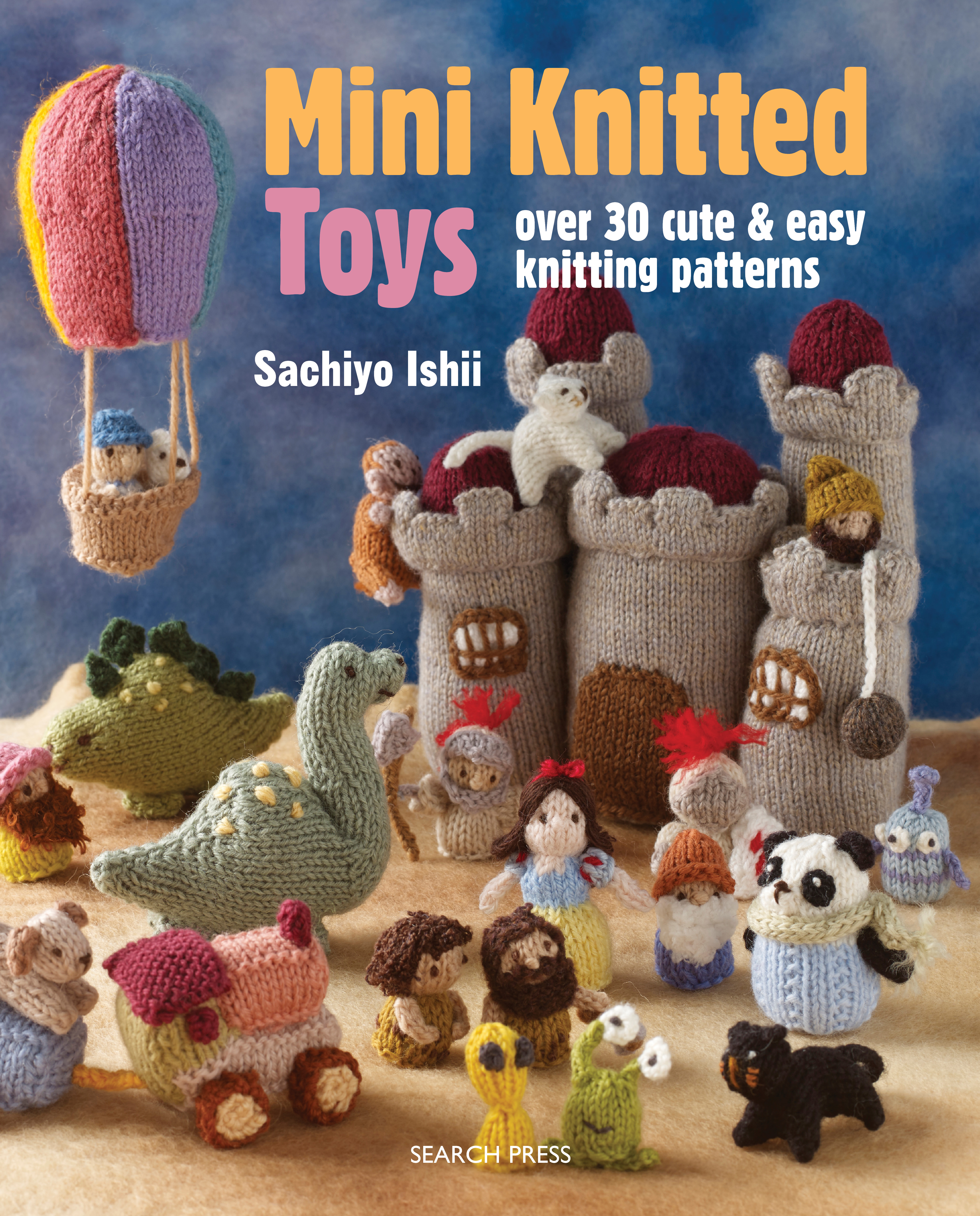 Mini Knitted Toys knits by sachi