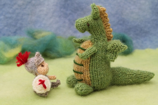 Knitted St George Knits By Sachi
